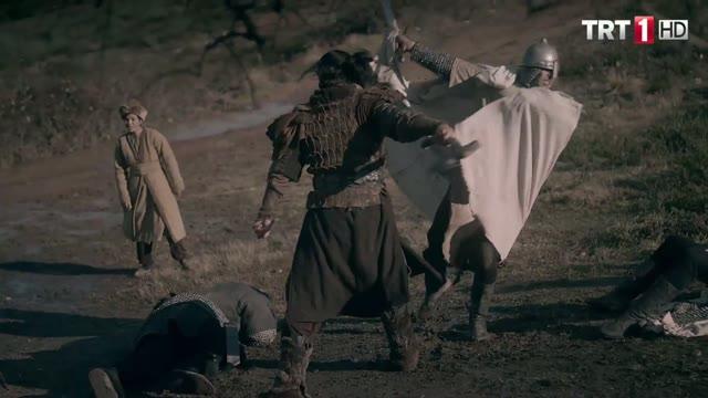 Turgut Alp'in Dövüş Sahnesi